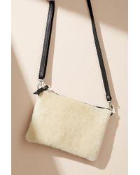 Anthropologie - Marisol Textured Sheepskin Crossbody Bag - Lyst