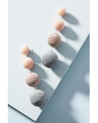 Suzanna Dai - Ombre Ball Drop Earrings - Lyst