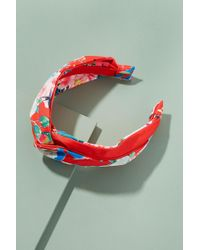Anthropologie - Twisted Floral Print Headband - Lyst