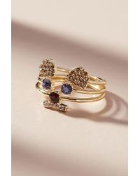 Anthropologie - Quiet As A Mouse Ring Set - Lyst
