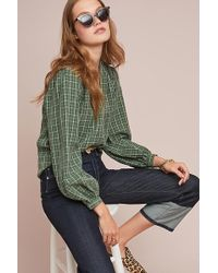 Anthropologie - Marion Plaid Shirt - Lyst