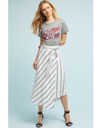 Seen, Worn, Kept - Aiden Striped Skirt - Lyst