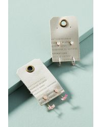 Anthropologie - Young At Heart Earring Set - Lyst