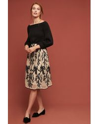 d.RA - Zoanne Embroidered-tulle Skirt - Lyst