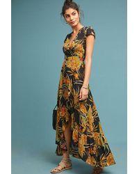 3e85774db48f Anthropologie - Bueno Aires Maxi Wrap Dress - Lyst