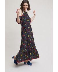 Ottod'Ame - Kasja Cold Shoulder Printed Dress - Lyst