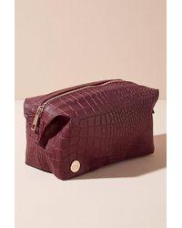 Mi-Pac - Croc-effect Faux-leather Washbag - Lyst