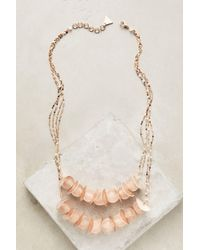 Serefina - Rose Rain Necklace - Lyst