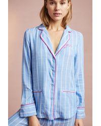Floreat - Sweetly Striped Sleep Shirt - Lyst