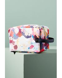 Anthropologie - Floral Overlay Cosmetic Case - Lyst