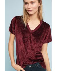 Michael Stars - Slouched V-neck Tee - Lyst