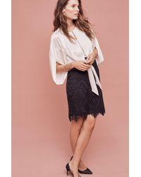 Moulinette Soeurs | Garden Silhouettes Lace Pencil Skirt | Lyst