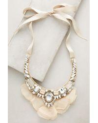 Ranjana Khan - Snow Tulle Bib Necklace - Lyst