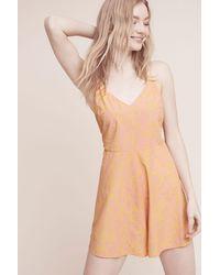 Lilka - Saffron Romper - Lyst