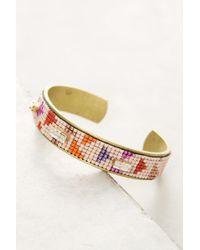 Jill Golden - Vector Beaded Cuff Bracelet - Lyst