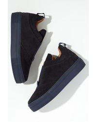 SELECTED - Suede Trainers - Lyst