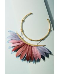 Katerina Psoma - Artemis Feather Collar Necklace - Lyst