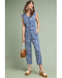 Lacausa - Morrow Printed Jumpsuit - Lyst