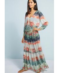 Lenny Niemeyer | Atlantas Sheer Maxi Dress | Lyst