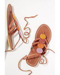 Aspiga - Komosa Leather Sandals - Lyst