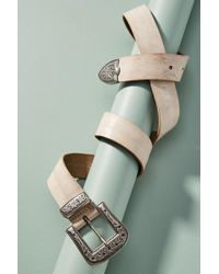 Brave Leather - Omes Leather Belt - Lyst