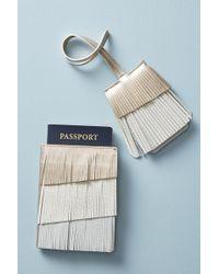 Anthropologie - Osha Fringed Passport Holder - Lyst