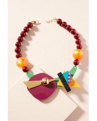 Katerina Psoma - Memphis Geometric Collar Necklace - Lyst