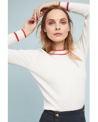 Just Female | Ebba Trimmed Pullover | Lyst