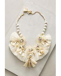 Suzanna Dai Raffia Palm Necklace 4Z5c7
