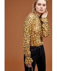 Maison Scotch - Leopard-print Shirt - Lyst