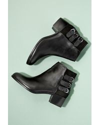 H by Hudson - Leather Ankle Boots - Lyst