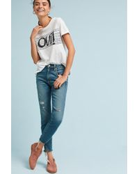 AMO   Twist High-rise Skinny Cropped Jeans   Lyst