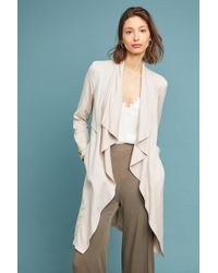 Cupcakes And Cashmere - Angela Draped Trench Coat - Lyst