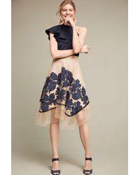 Eva Franco - Floral Netted Skirt - Lyst