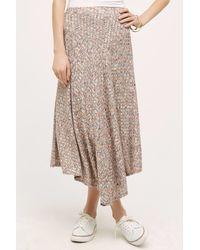 Vanessa Virginia - Kearney Knit Maxi Skirt, Neutral - Lyst