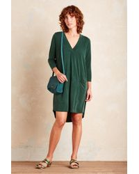 Dolan - Tegan Tunic Dress, Green - Lyst