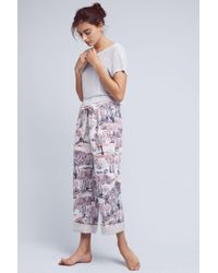Lilka - Dreamland Flannel Sleep Trousers - Lyst
