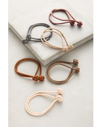 Anthropologie - Knotted Hair Tie Set - Lyst