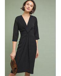 0858be272647 On sale Moulinette Soeurs - Sorley Twist-front Dress - Lyst