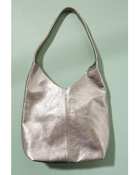 Anthropologie - Courtney Metallic-leather Tote - Lyst