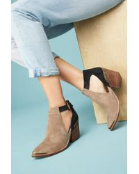 Jeffrey Campbell | Woodruff Cutout Ankle Booties | Lyst