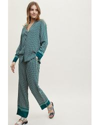 Second Female - Tianna Printed Trousers - Lyst