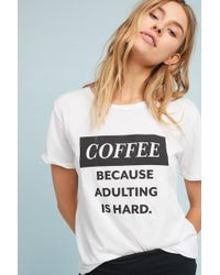 Saturday/sunday | Adulting Graphic Tee | Lyst