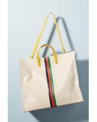 Clare V. - Simple Striped Tote Bag - Lyst