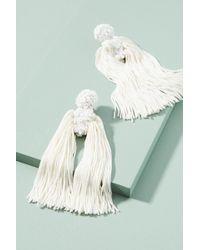 Sachin & Babi | Fleur Round Silk Drop Earrings | Lyst