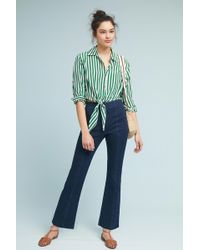 Level 99 - Melanie High-rise Flare Jeans - Lyst