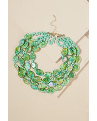 Anthropologie | Liv Layered Beaded Necklace | Lyst