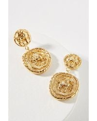 Amber Sceats - Franco Coin Drop Earrings - Lyst