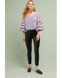 Anthropologie - Mid-rise Skinny Velvet Jeans - Lyst