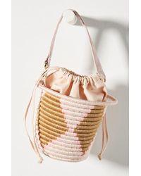 Anthropologie - Milo Mini Woven Bucket Bag - Lyst